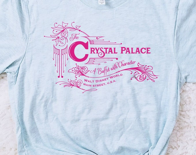 Crystal Palace Magic Kingdom Restaurant Inspired Unisex Shirt