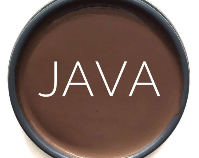 INTRO SALE - Java (Chocolate Brown) Glaze - Wise Owl Chalk Synthesis Paint - Free Shipping