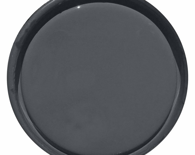 INTRO SALE - Charcoal (Dark Gray) Glaze - Wise Owl Chalk Synthesis Paint - Free Shipping