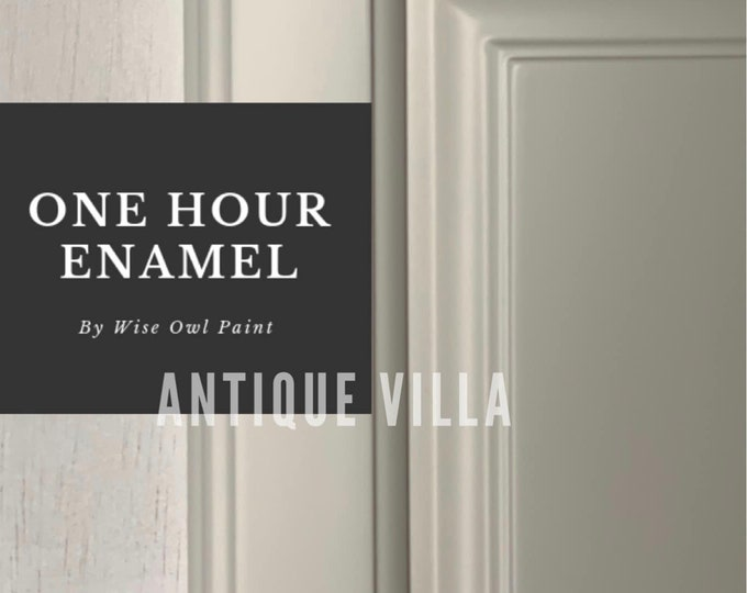 INTRO SALE! Antique Villa (Neutral White) Wise Owl One Hour Enamel Paint - Free Shipping