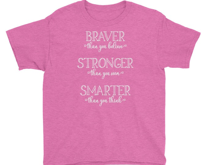 Great Adventure - Pooh Inspired Pink Kids Crew Neck - FREE SHIPPING