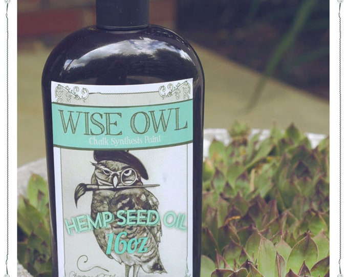 INTRO SALE! Wise Owl Natural Hemp Seed Furniture Oil - Clear - Free Shipping