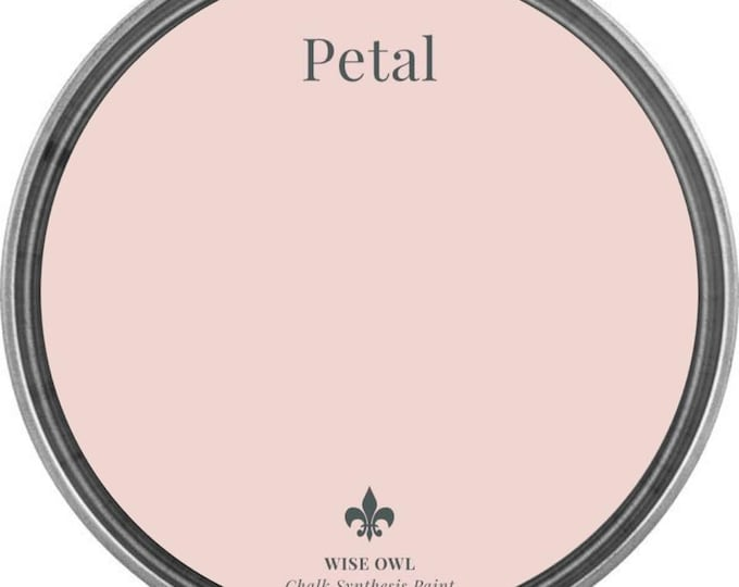 INTRO SALE - Petal (Light Pink) - Wise Owl Chalk Synthesis Paint - Free Shipping