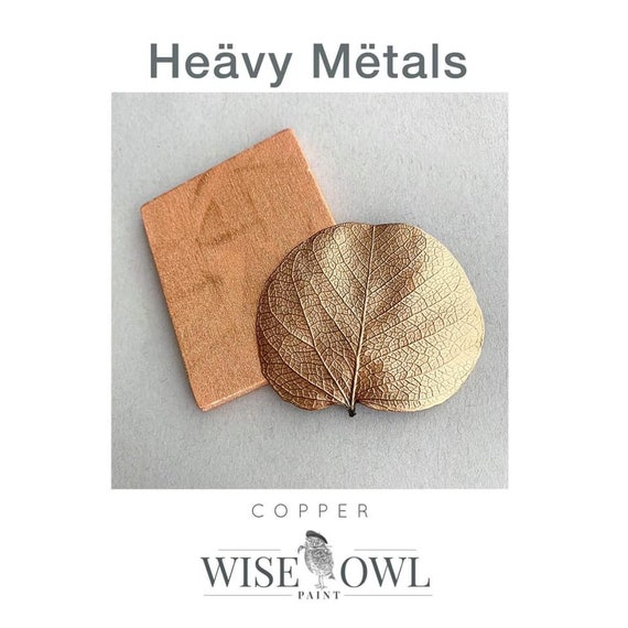 Wise Owl Heavy Metals Metallic Gilding Paint in Copper