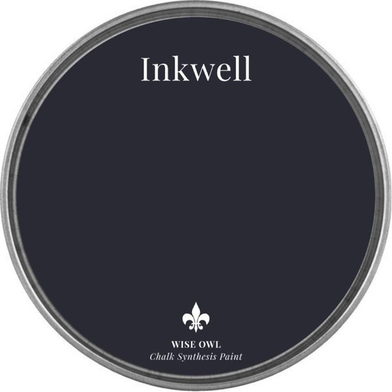 Inkewell (Midnight Navy Blue) - Wise Owl Chalk Synthesis Paint - FREE SHIPPING