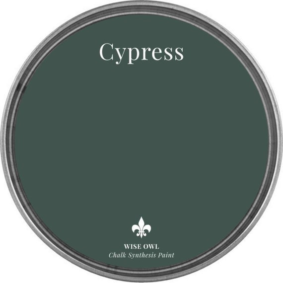 Cypress (Hunter Green) - Wise Owl Chalk Synthesis Paint - FREE SHIPPING
