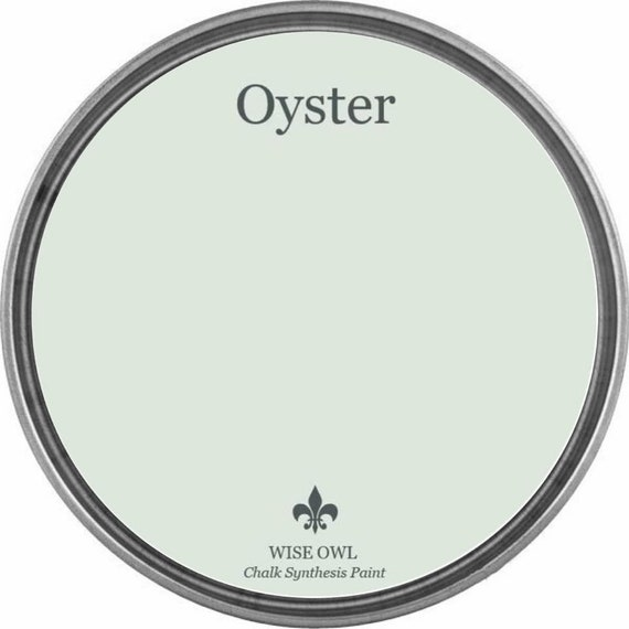 INTRO SALE - Oyster (Warm Gray-Green) - Wise Owl Chalk Synthesis Paint - low flat shipping
