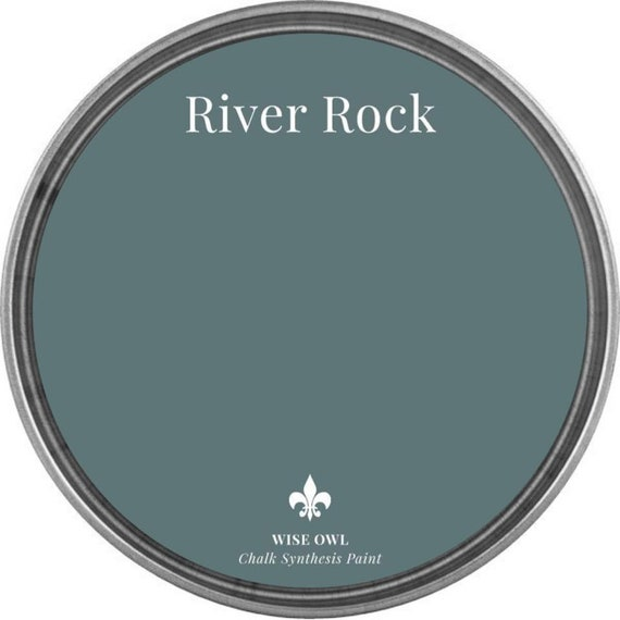River Rock (Cool Blue Gray) - Wise Owl Chalk Synthesis Paint  - FREE SHIPPING