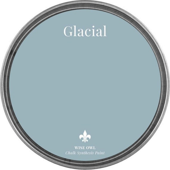 Glacial (Light Gray Blue) - Wise Owl Chalk Synthesis Paint - FREE SHIPPING