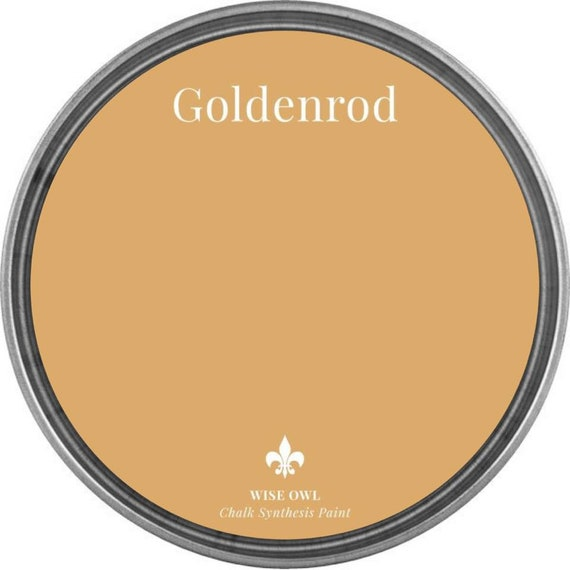 Goldenrod (Deep Mustard Yellow) - Wise Owl Chalk Synthesis Paint - FREE SHIPPING