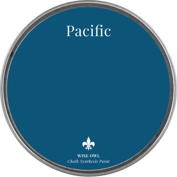 INTRO SALE - Pacific (Royal Blue) - Wise Owl Chalk Synthesis Paint - low flat shipping