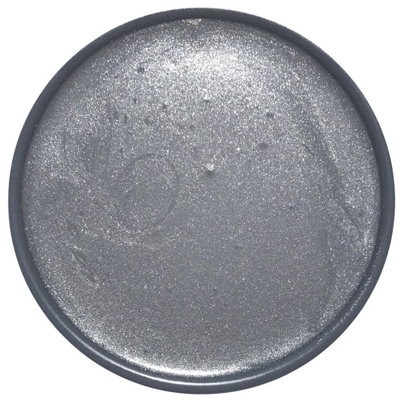 INTRO SALE - Metallic Silver Glaze - Wise Owl Chalk Synthesis Paint - low flat shipping