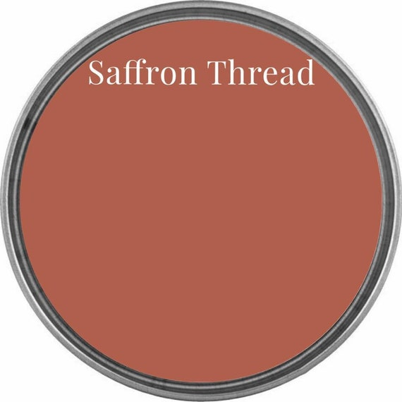 Saffron Thread (Terracotta Red Orange) - Wise Owl Chalk Synthesis Paint - Limited Edition Spring/Summer 2019 Seasonal Color - FREE SHIPPING
