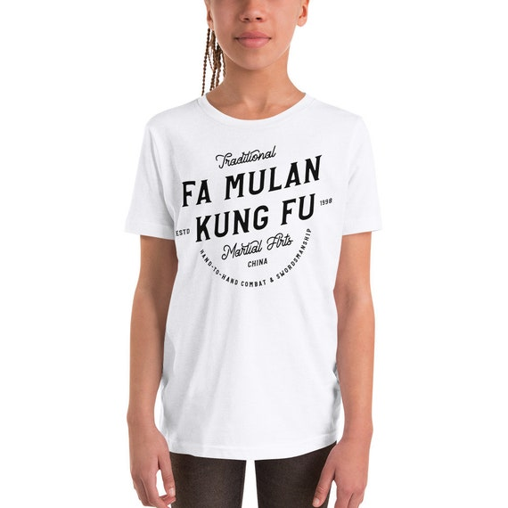 Fa Mulan - Martial Arts/Karate Inspired Toddler/Youth Crew Neck - FREE SHIPPING