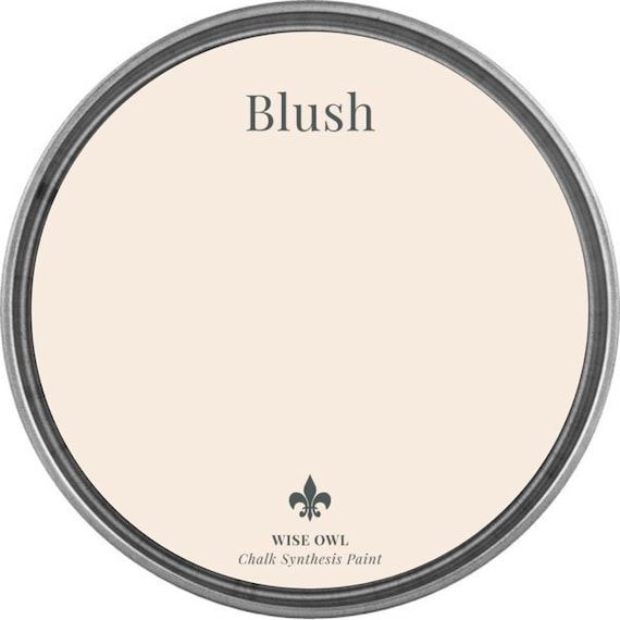 Blush (Light Pink) - Wise Owl Chalk Synthesis Paint - FREE SHIPPING