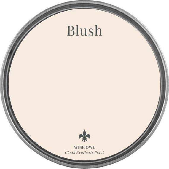 INTRO SALE - Blush (Light Pink) - Wise Owl Chalk Synthesis Paint - low flat shipping