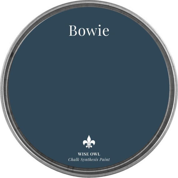 INTRO SALE - Bowie (Peacock Navy Blue) - Wise Owl Chalk Synthesis Paint - low flat shipping