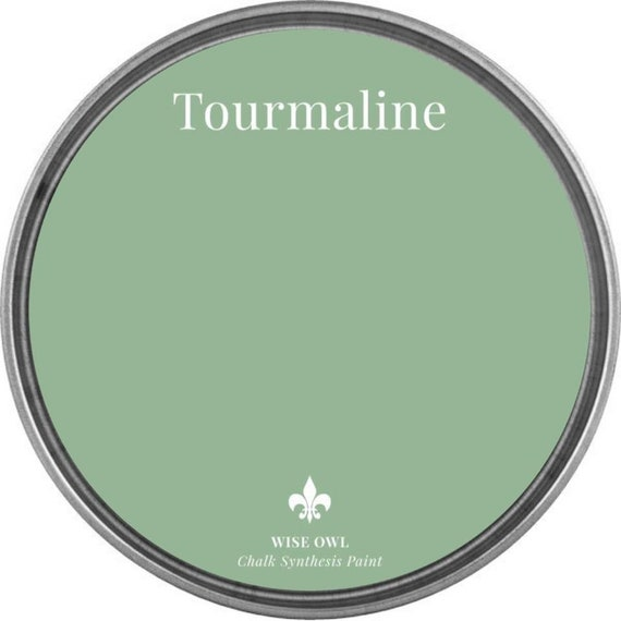 INTRO SALE - Tourmaline (Light Vintage Green) - Wise Owl Chalk Synthesis Paint - low flat shipping