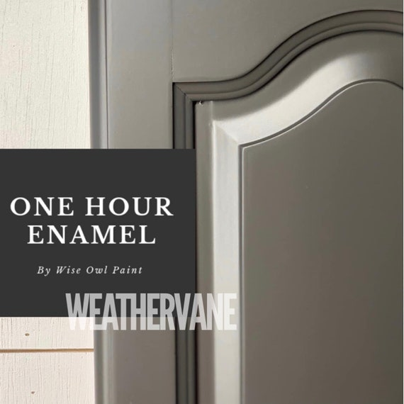 INTRO SALE! Weathervane (Dark Cool Brown) Wise Owl One Hour Enamel Paint - low flat shipping