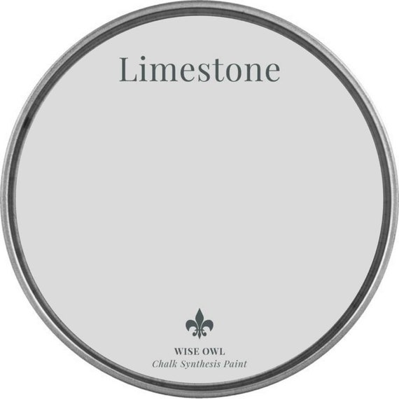 INTRO SALE - Limestone (Cool Gray) - Wise Owl Chalk Synthesis Paint - low flat shipping