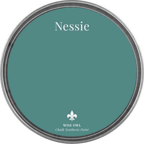 INTRO SALE - Nessie  (Dark Turquoise) - Wise Owl Chalk Synthesis Paint - low flat shipping