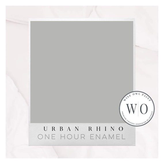 NEW! Urban Rhino (Gray) Wise Owl One Hour Enamel Paint - Free Shipping