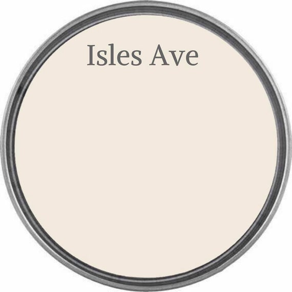 Isles Ave (Cream) - Wise Owl Chalk Synthesis Paint  - FREE SHIPPING