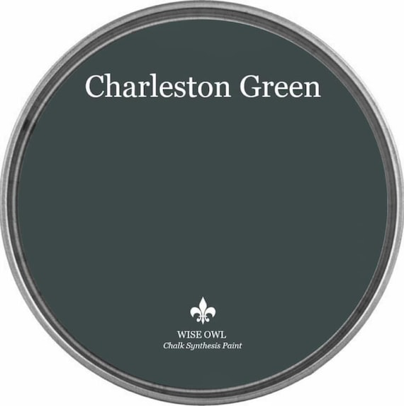 Charleston Green (Dark Black-Green) - Wise Owl Chalk Synthesis Paint - FREE SHIPPING