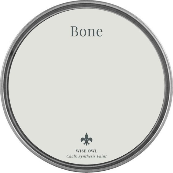 INTRO SALE - Bone (Light Gray) - Wise Owl Chalk Synthesis Paint - low flat shipping