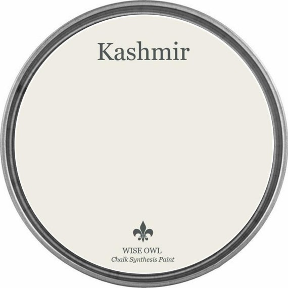 INTRO SALE - Kashmir (Soft Neutral Cream) - Wise Owl Chalk Synthesis Paint - low flat shipping