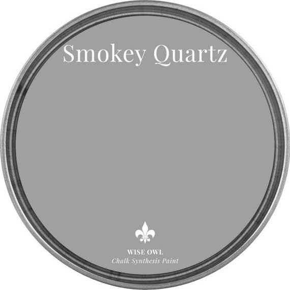 INTRO SALE - Smokey Quartz (True Gray) - Wise Owl Chalk Synthesis Paint - low flat shipping