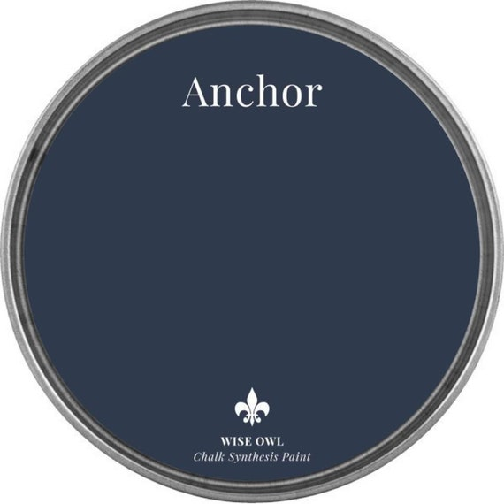 INTRO SALE - Anchor (Navy) - Wise Owl Chalk Synthesis Paint - low flat shipping