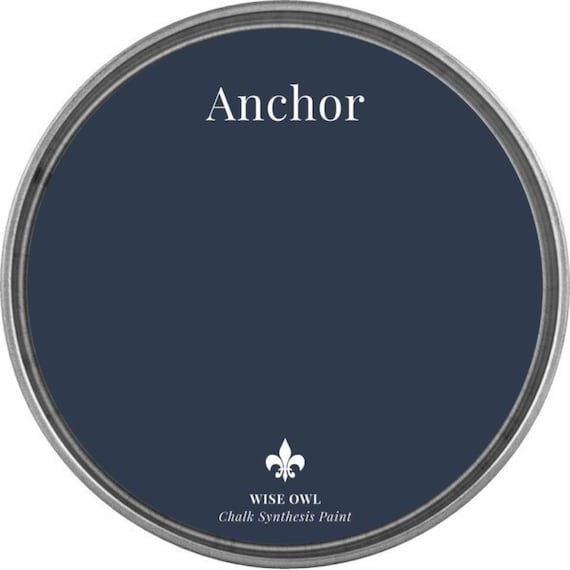 Anchor (Navy) - Wise Owl Chalk Synthesis Paint - FREE SHIPPING