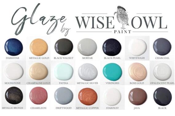 Wise Owl Paint Glaze - Pint