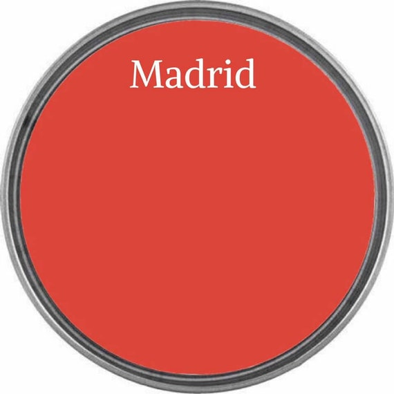 Madrid (Vibrant Coral) - Wise Owl Chalk Synthesis Paint  - FREE SHIPPING