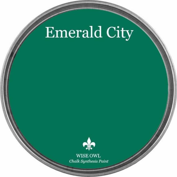 Emerald City (Emerald Green) - Wise Owl Chalk Synthesis Paint - FREE SHIPPING