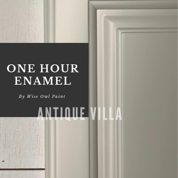 INTRO SALE! Antique Villa (Neutral White) Wise Owl One Hour Enamel Paint - low flat shipping