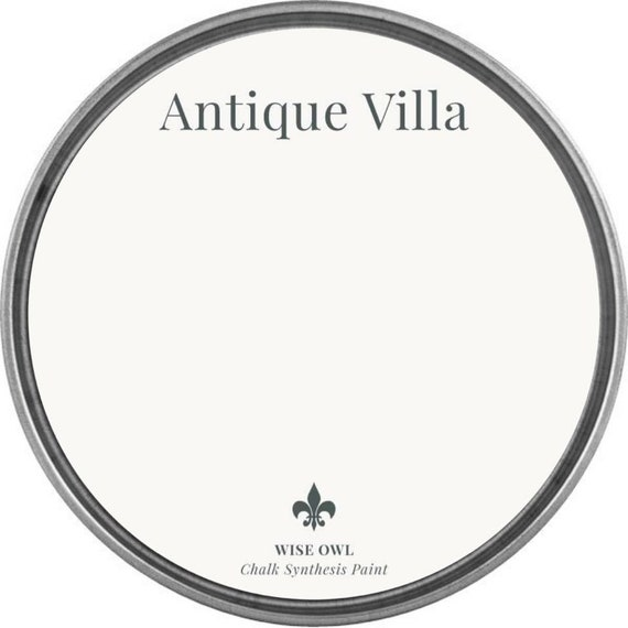 INTRO SALE - Antique Villa (Slightly Off White or Creme) - Wise Owl Chalk Synthesis Paint - low flat shipping