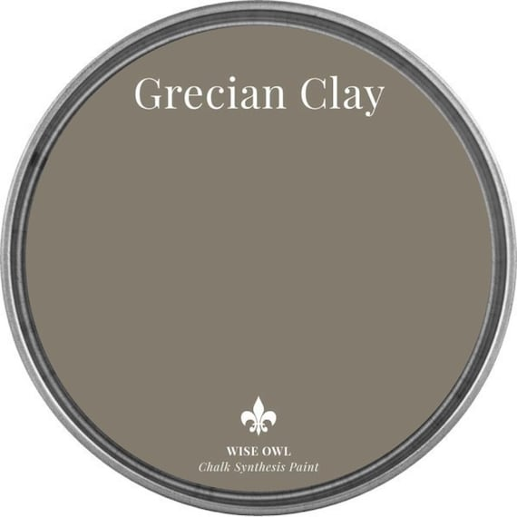 Grecian Clay (Dark Gray Beige) - Wise Owl Chalk Synthesis Paint - FREE SHIPPING