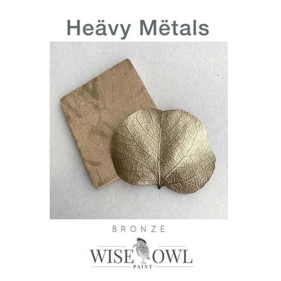 Wise Owl Heavy Metals Metallic Gilding Paint in Bronze