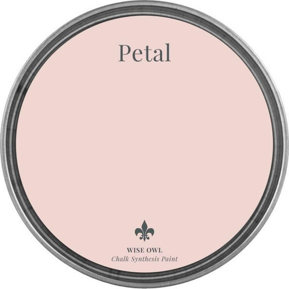 INTRO SALE - Petal (Light Pink) - Wise Owl Chalk Synthesis Paint - low flat shipping