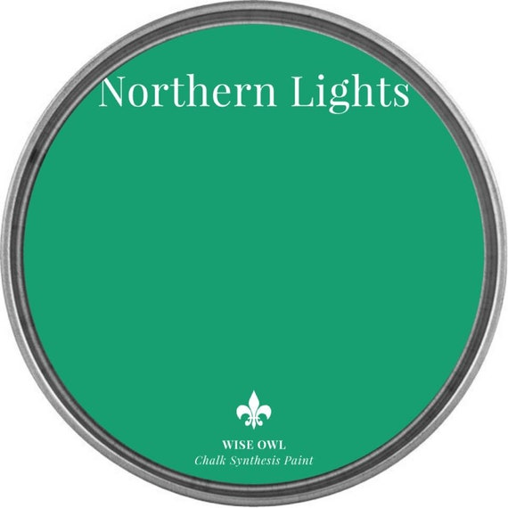 INTRO SALE - Northern Lights  (Vibrant Grass Green) - Wise Owl Chalk Synthesis Paint - low flat shipping
