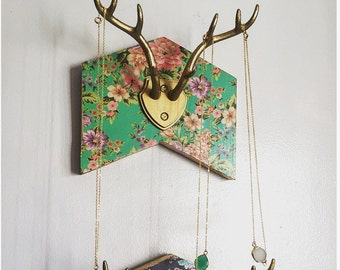 Antler Jewelry Holder, Antler jewelry hanger, jewelry hanger, jewelry holder, jewelry storage