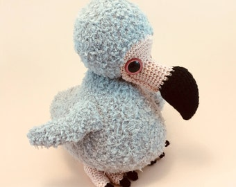 Doris The Dodo - Cuddly Amigurumi Pattern