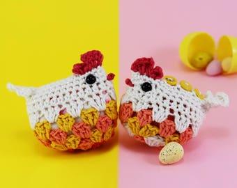 Wee Hen Surprise - 2 in 1 Amigurumi Pattern