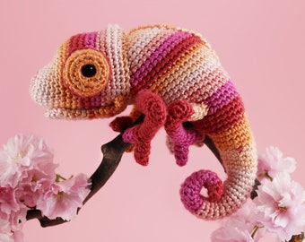 Colour Pop Chameleon - 2in1 Amigurumi Pattern