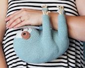 Irene Strange crochet pattern - Ollie The Sloth - PDF eBook