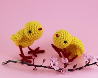 Little Lottie The Chick Amigurumi Pattern