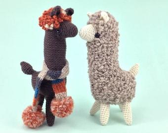 Ludwig The Llama - Amigurumi Pattern