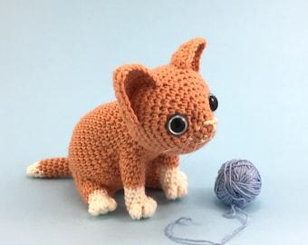 Nutmeg Kitten - Amigurumi Pattern